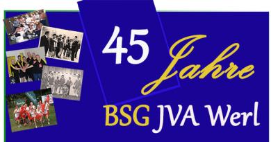 45 Jahre BSG
