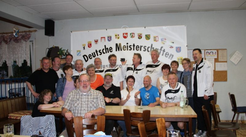 Deutsche Kegelmeisterschaft Bruchsal 2012