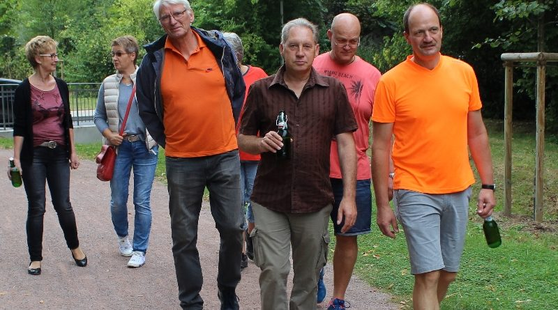 BSG Wandertag 2016 Wandelen in Klompen