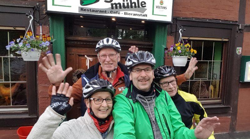 Anradeln 2017 – BSG Biker unterwegs