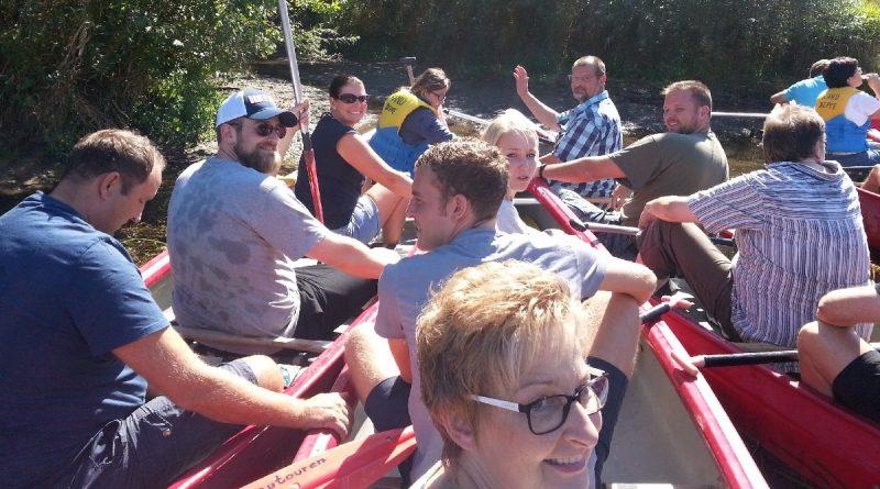 Kanutour 2017 – paddeln was das Zeug hält…