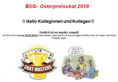 Osterpreisskat 2018