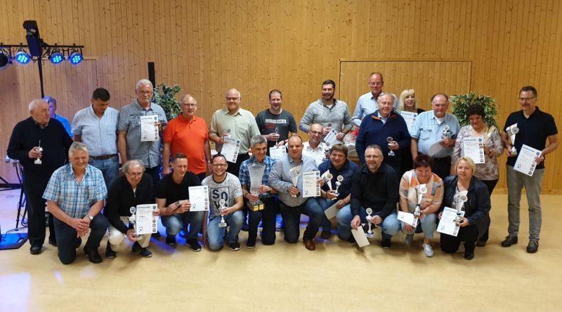 Ergebnisse der Deutschen Kegelmeisterschaft 2019 in Bruchsal