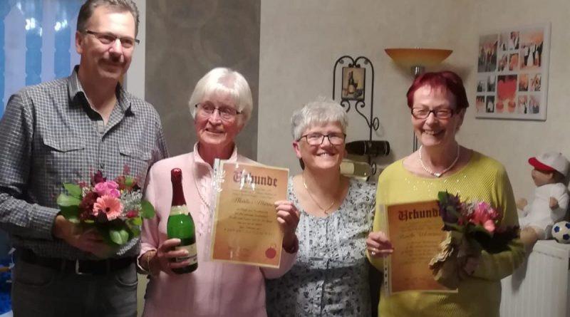 Damengymnastikgruppe feiert 45-jähriges Bestehen